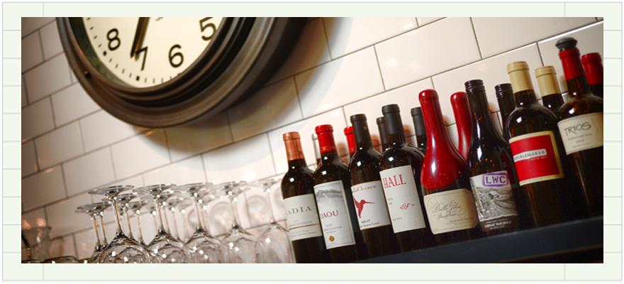 Clock & Wine